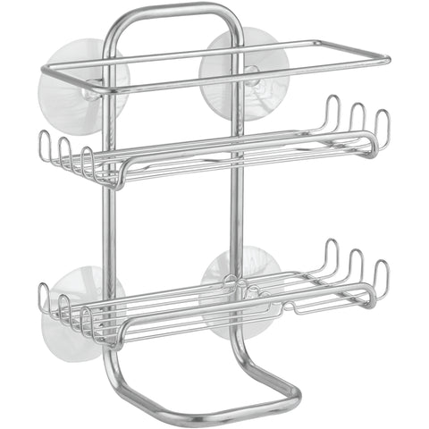Suction cup shower caddy