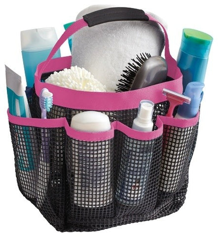 Shower Tote a movable type of shower organizer