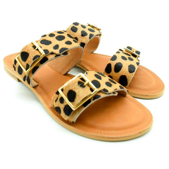 Tan Wild Animal Print Barcelona