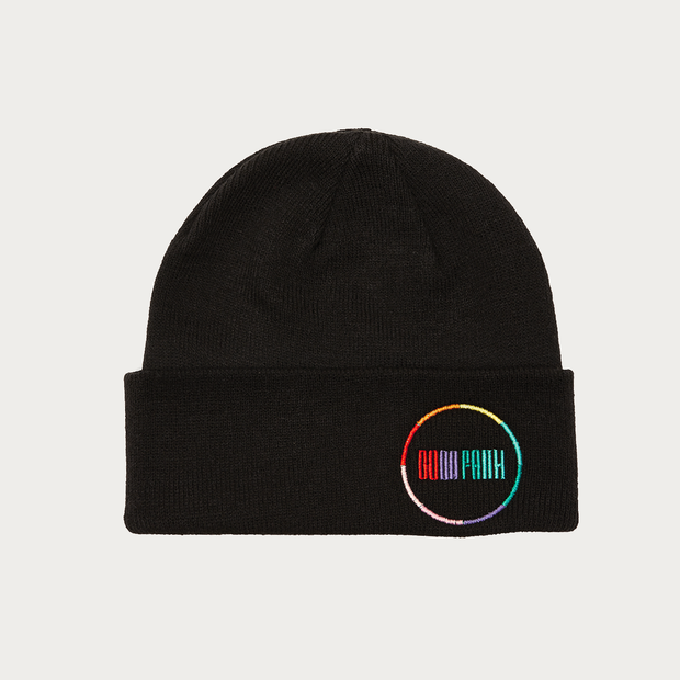 GOOD FAITH RAINBOW BEANIE