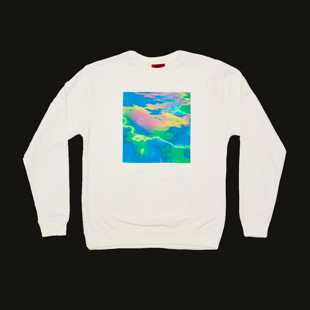 LIQUID RAINBOW CREWNECK