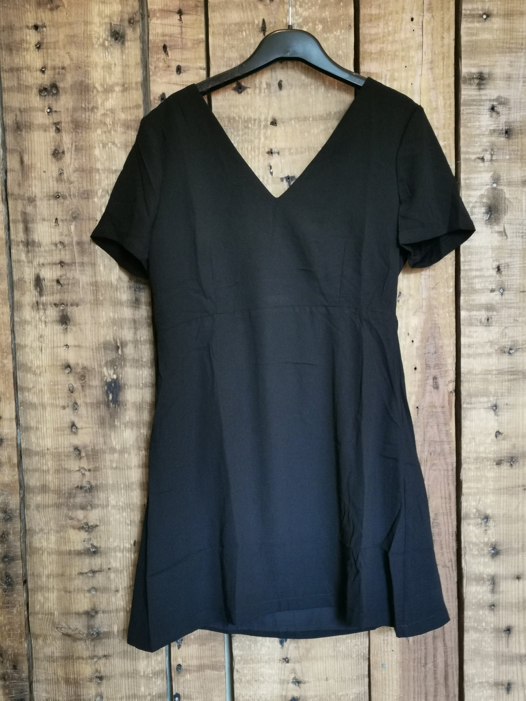 Black Ribbon Dress