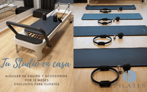 TE ARMAMOS TU STUDIO EN CASA - The Pilates Studio Online