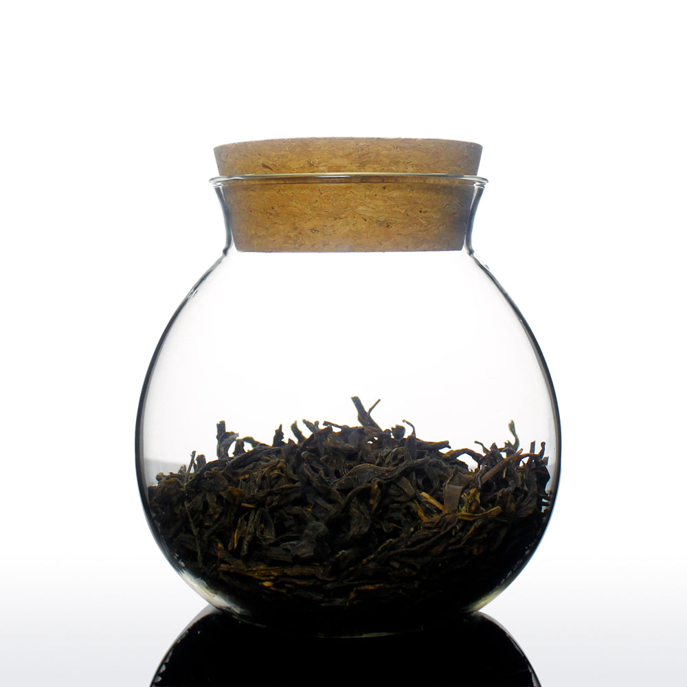Glass Jar with Cork Lid 400ml - Petrela