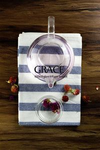 Glass Teapots with Infuser and Lid 600ml - Grace