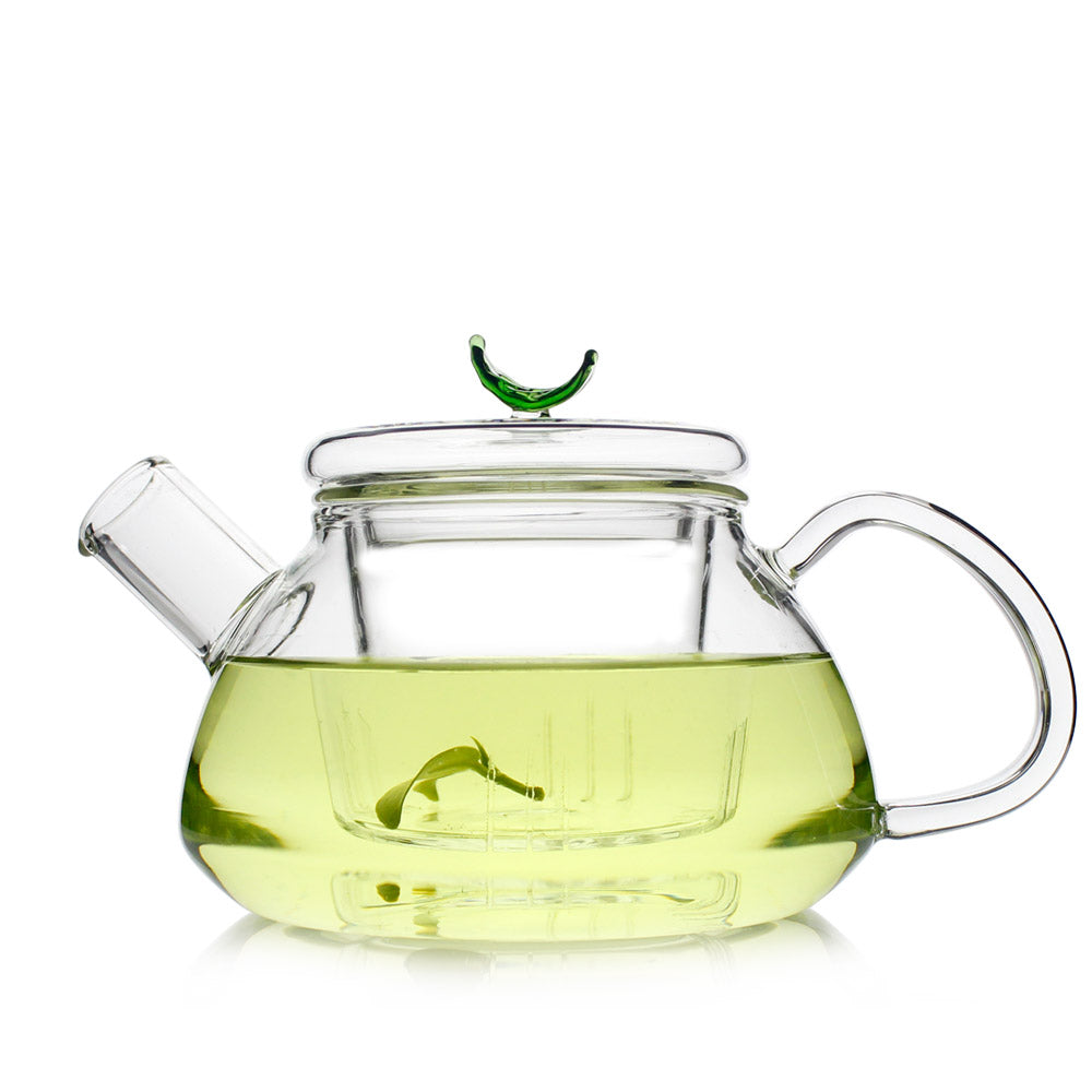 Glass Teapot with Infuser and Lid 600ml - Loarre