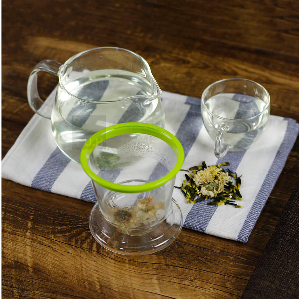 Glass Teapot with Infuser and Lid 400ml - Lucera