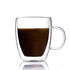 Double Walled Glass Mug 400ml (Set of 2) - Memory