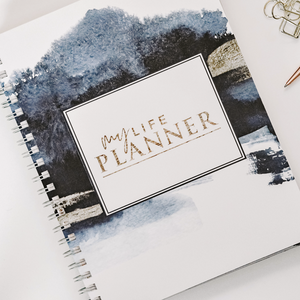 My Life Planner | Undated | 7 x 9 |