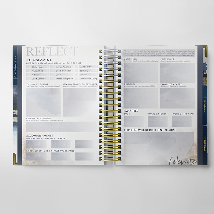 Undated Soul Edition Planner: AVAILABLE FOR PRE-ORDER