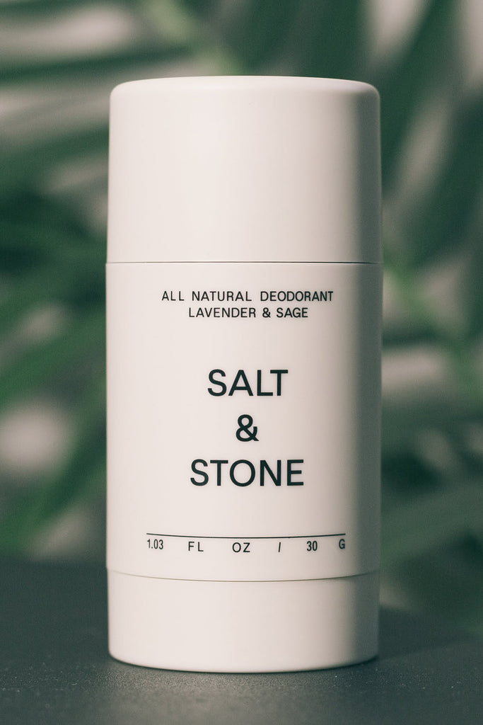 NATURAL DEODORANT - LAVENDER + SAGE-Natural Skin & Body Care-Raw X Salt