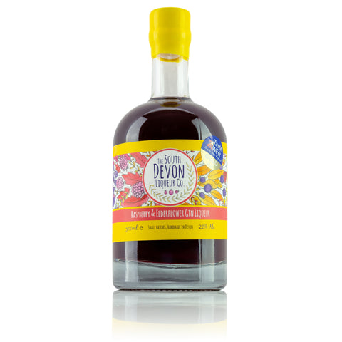 Raspberry & Elderflower Liqueur 500ml