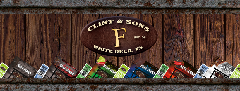 Clint & Sons Beef Jerky and Sticks