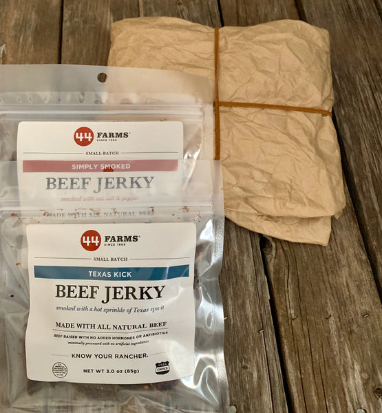Gift Wrapped Beef Jerky Pack