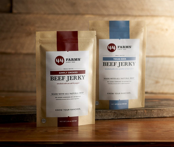 44 Farms Texas Kick Beef Jerky