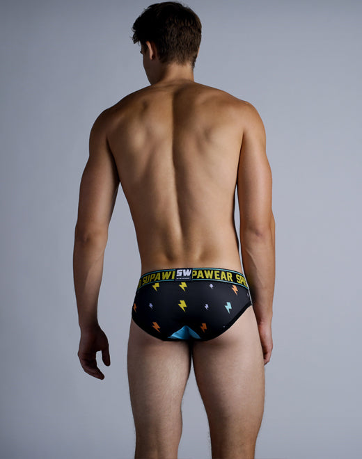 Sprint Brief Underwear - Black Thunder
