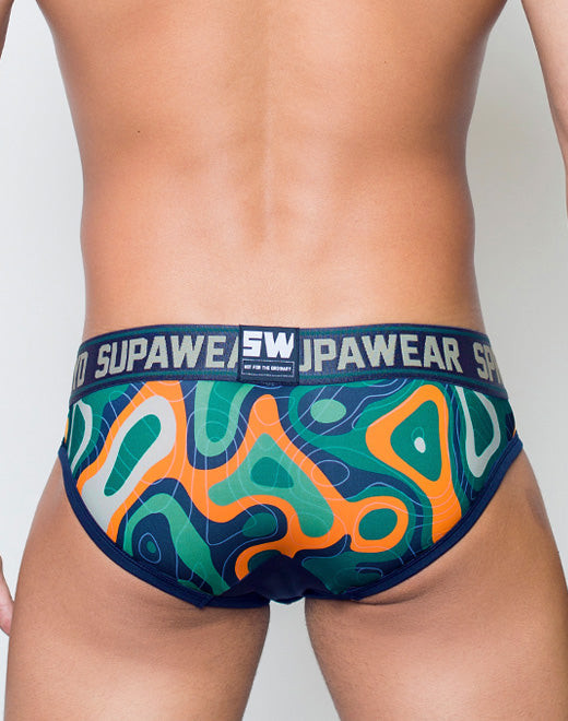 Sprint Brief Underwear - Guerilla Green