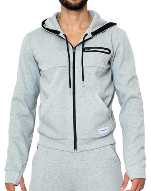 Apex Jacket - Grey Marle