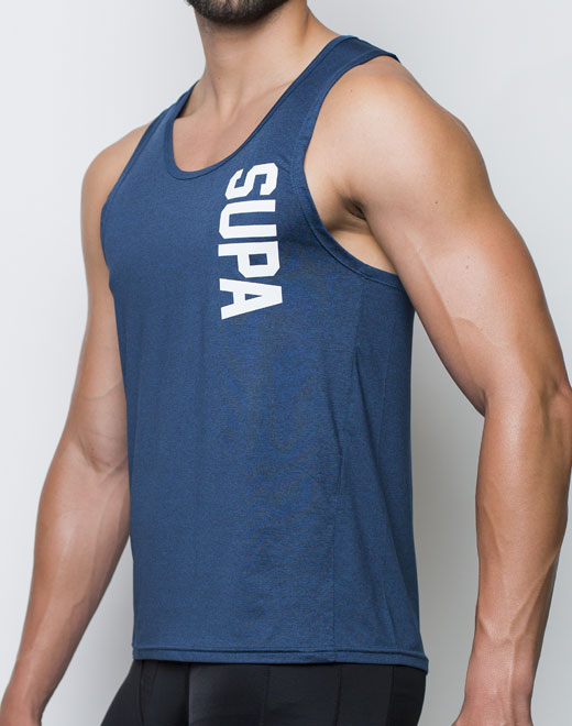 Breeze Singlet - Space Blue