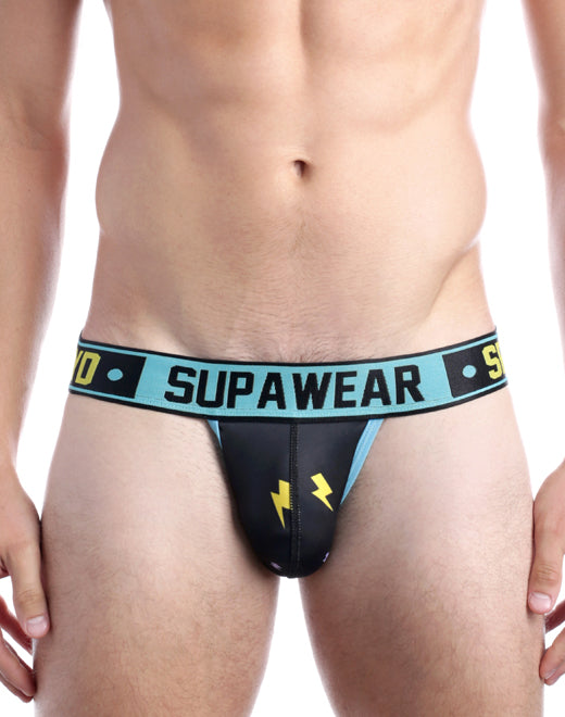 Sprint Jockstrap Underwear - Black Thunder