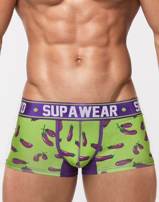 Sprint Trunk Underwear - Eggplant