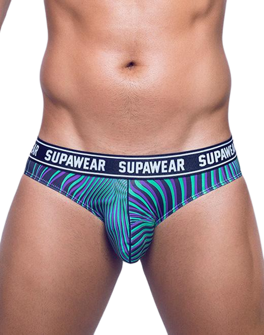POW Brief Underwear -  Freaky Green