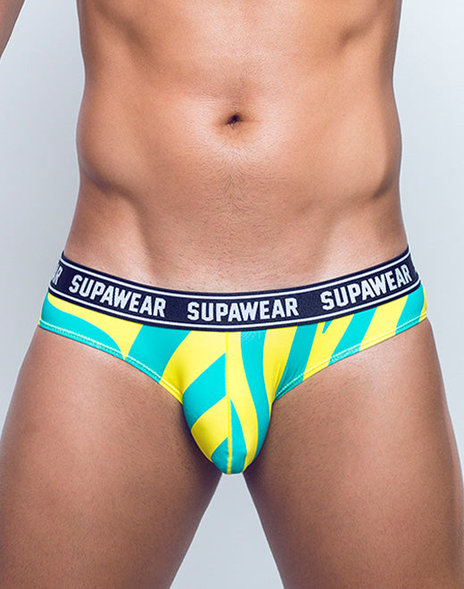 POW Brief Underwear - Yellow Beast