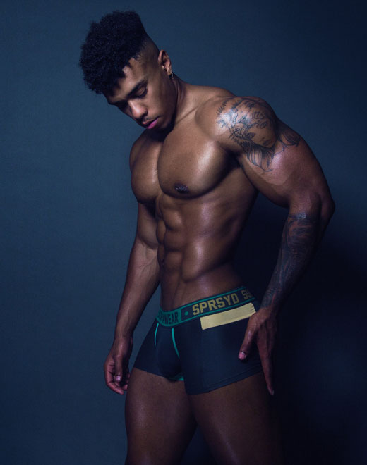 Cyborg Trunk Underwear - Cyber Green