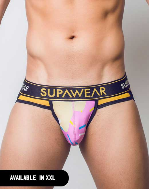 Sprint Jockstrap Underwear - Strawberry Caramel