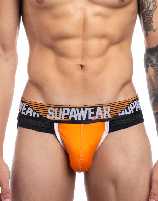 Turbo Jockstrap Underwear - Turbo Orange