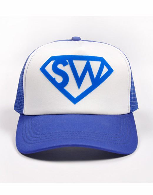 SUPA-MAN CAP Blue