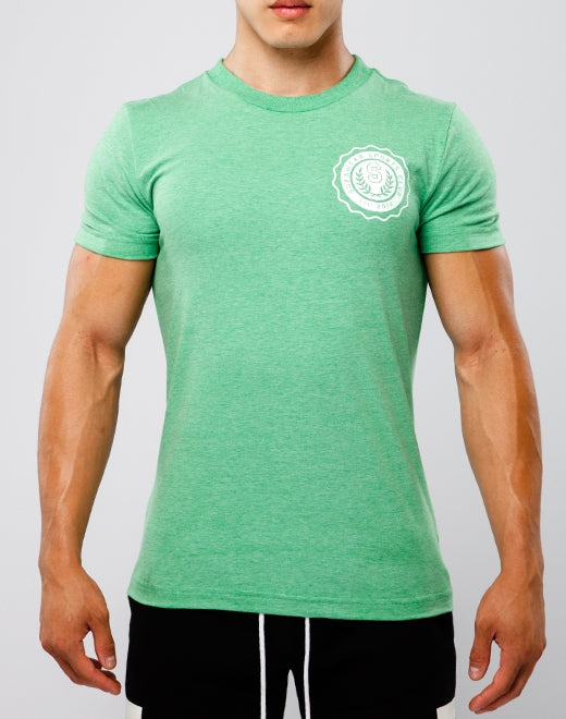 SPORTS CLUB T Shirt - Green Marle