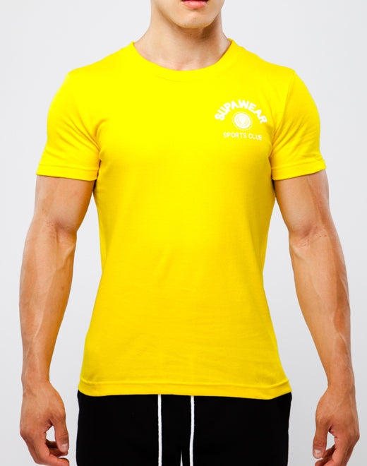 SPORTS CLUB T Shirt - Yellow