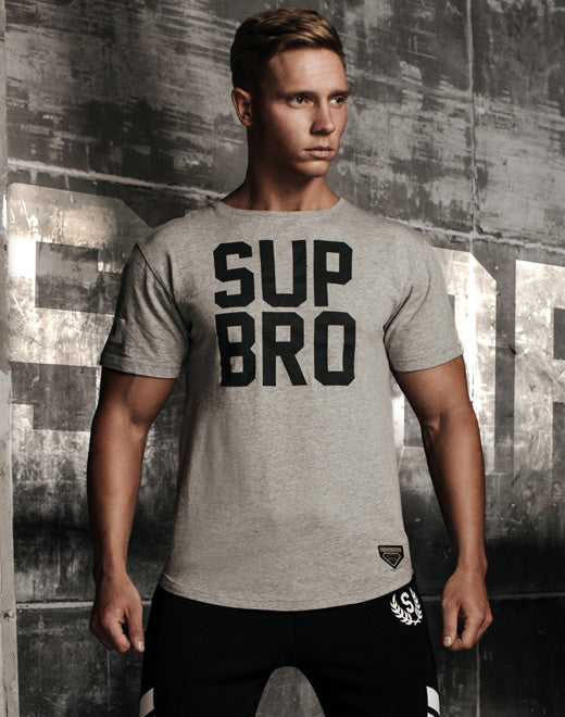 SUP T-Shirt - Grey Marle