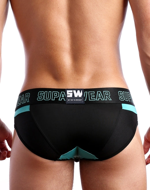 Cyborg Brief Underwear - Bionic Blue
