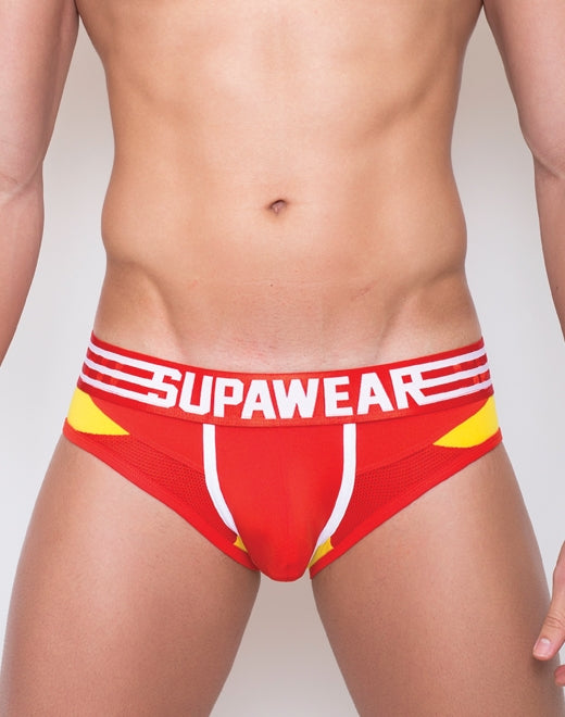 Rocket Brief Underwear - Rocket Red