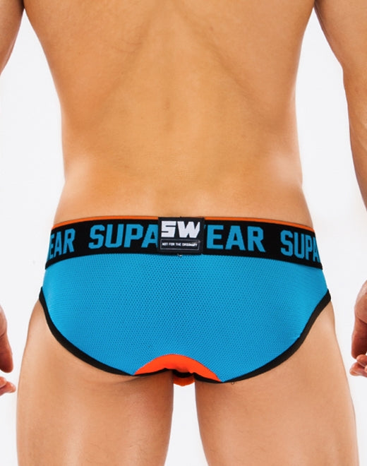 Turbo Brief Underwear - Nitrous Blue