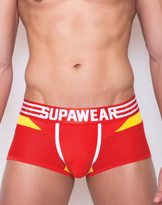 Rocket Trunk Underwear - Rocket Red