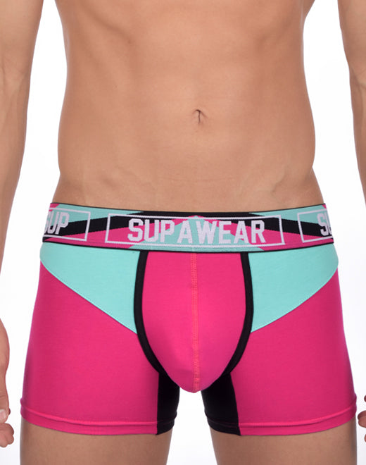 Vortex Trunk Underwear - Magenta