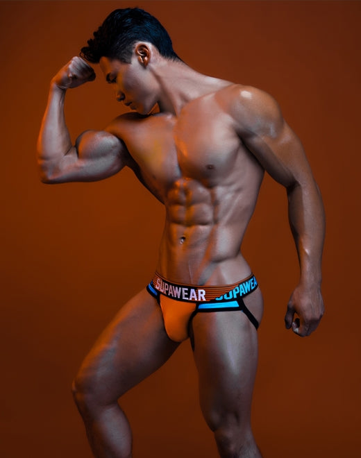 Turbo Jockstrap Underwear - Nitrous Blue