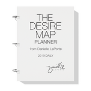 The Desire Map Planner 2019 Daily Printable