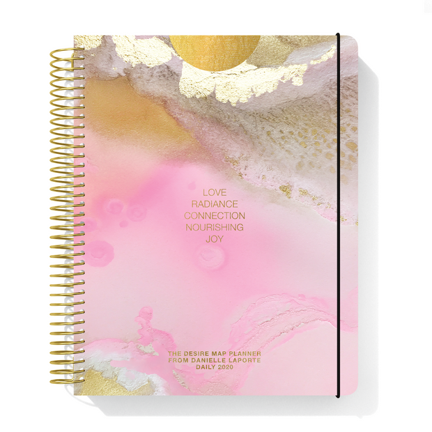 2020 DAILY Desire Map Planner + Program (Art w/type)