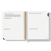 2020 WEEKLY Desire Map Planner + Program (Purple w/type)