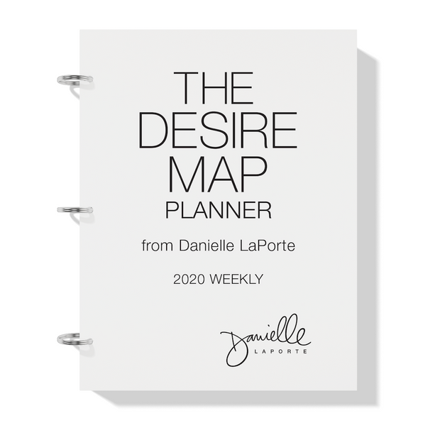 The Desire Map Planner 2020 Printable - Weekly Edition