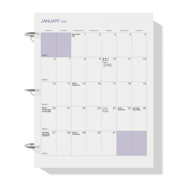 photo about Weekly Printable known as The Demand from customers Map Planner 2020 Printable - Weekly Version