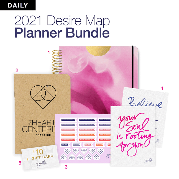LIMITED EDITION Desire Map Planner Expansion Pack (Daily Interstellar Orchid)