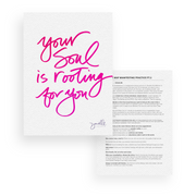 "#Truthbomb Prints: ""Believe it to see it"" + ""Your soul is rooting for you"" (Limited Edition)"