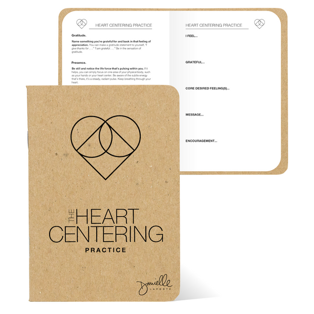 The Heart Centering Pocket Journal (Limited Edition)