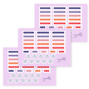 Desire Map Planner Stickers (Limited Edition)