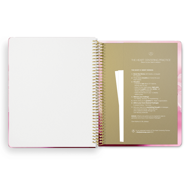 2021 Daily Desire Map Planner (Interstellar Orchid)